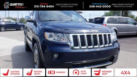2013 Jeep Grand Cherokee for sale at Quattro Motors 2 - 1 in Redford MI