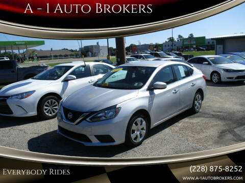 2017 Nissan Sentra for sale at A - 1 Auto Brokers in Ocean Springs MS