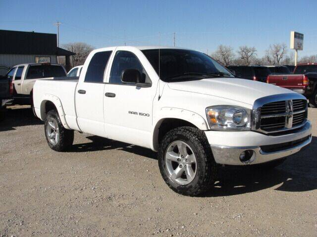2007 Dodge Ram Pickup 1500 for sale at Frieling Auto Sales in Manhattan KS
