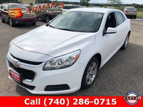 2015 Chevrolet Malibu for sale at Carmans Used Cars & Trucks in Jackson OH