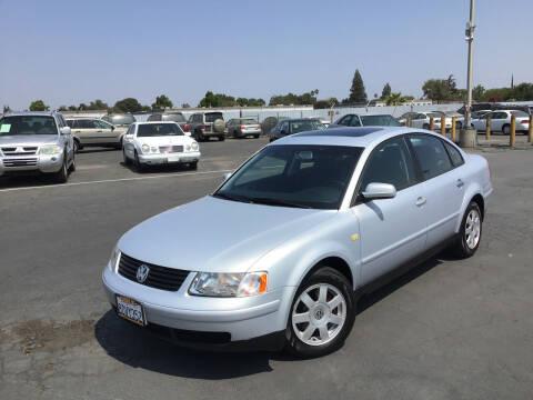 1999 Volkswagen Passat for sale at My Three Sons Auto Sales in Sacramento CA