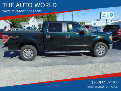 2012 Ford F-150 for sale at THE AUTO WORLD in Churubusco IN