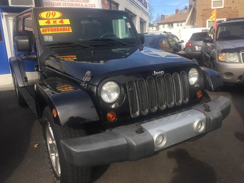 2009 Jeep Wrangler Unlimited for sale at White River Auto Sales in New Rochelle NY