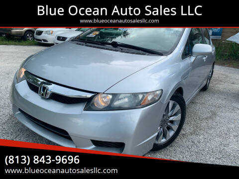 2009 Honda Civic for sale at Blue Ocean Auto Sales LLC in Tampa FL