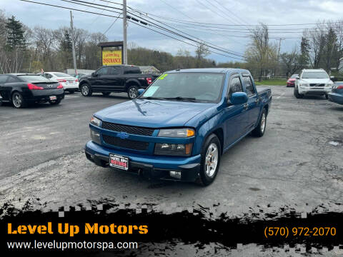 2012 Chevrolet Colorado for sale at Level Up Motors in Tobyhanna PA
