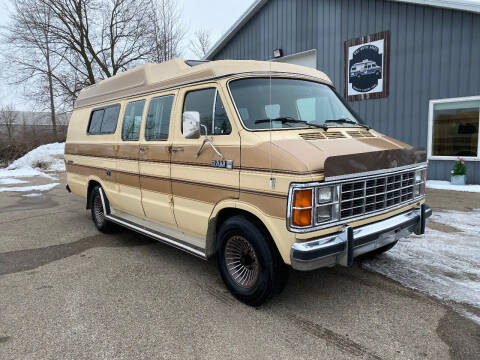 1985 Dodge B250 Prospector for sale at D & L Auto Sales in Wayland MI