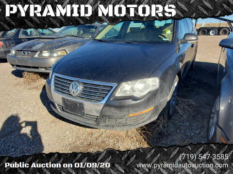 2008 Volkswagen Passat for sale at PYRAMID MOTORS - Pueblo Lot in Pueblo CO