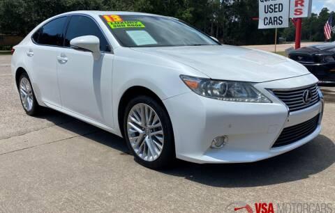 2013 Lexus ES 350 for sale at VSA MotorCars in Cypress TX