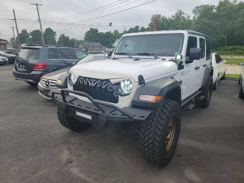 2018 Jeep Wrangler Unlimited for sale at Top Quality Auto Sales in Westport MA