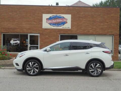 2018 Nissan Murano for sale at Eyler Auto Center Inc. in Rushville IL