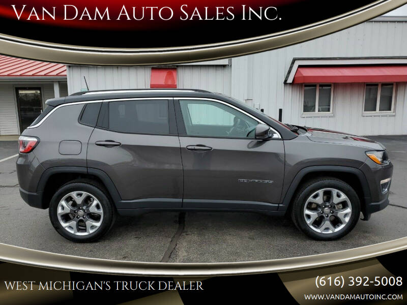 2018 Jeep Compass for sale at Van Dam Auto Sales Inc. in Holland MI