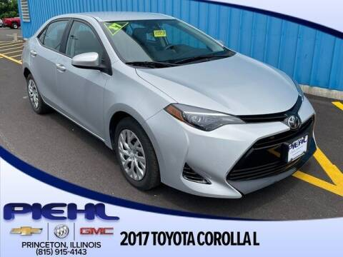 2017 Toyota Corolla for sale at Piehl Motors - PIEHL Chevrolet Buick Cadillac in Princeton IL