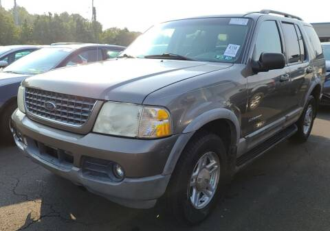 2002 Ford Explorer for sale at Angelo's Auto Sales in Lowellville OH