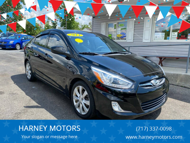 2014 Hyundai Accent for sale at HARNEY MOTORS in Gettysburg PA