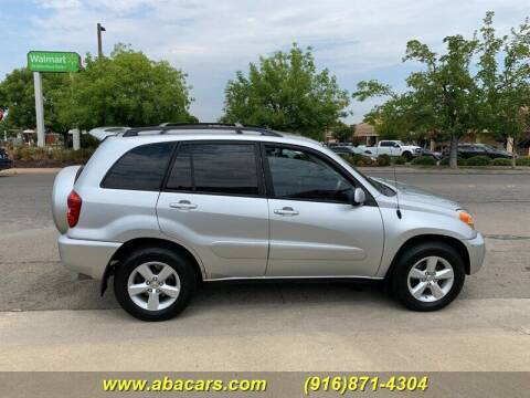 2005 Toyota RAV4 for sale at About New Auto Sales in Lincoln CA