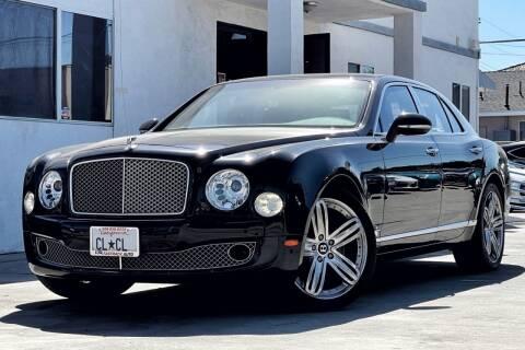 2011 Bentley Mulsanne for sale at Fastrack Auto Inc in Rosemead CA