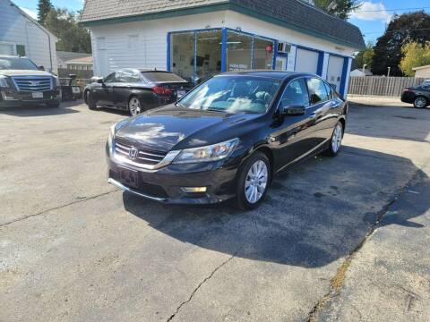 2013 Honda Accord for sale at MOE MOTORS LLC in South Milwaukee WI