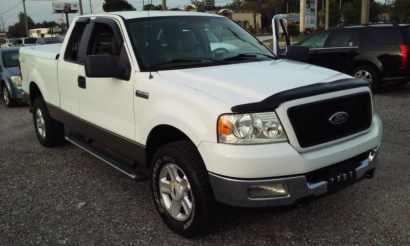 2004 Ford F-150 for sale at Pinellas Auto Brokers in Saint Petersburg FL