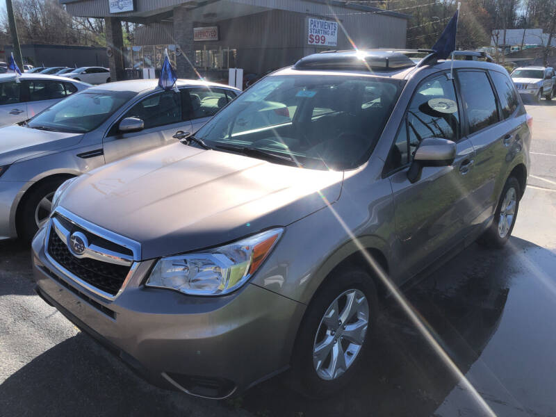 2016 Subaru Forester for sale at Car Guys in Lenoir NC
