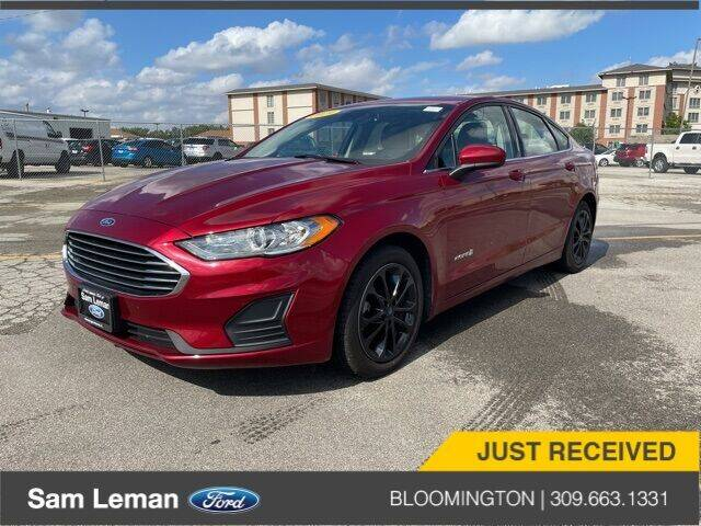 2019 Ford Fusion Hybrid for sale in Bloomington, IL