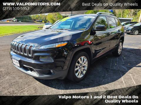 2015 Jeep Cherokee for sale at Valpo Motors Inc. in Valparaiso IN