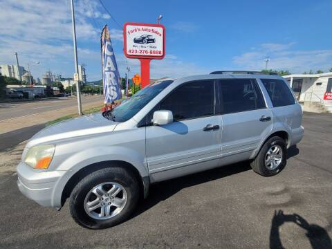 2003 Honda Pilot for sale at Ford's Auto Sales in Kingsport TN