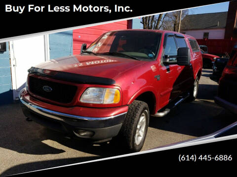 2001 Ford F-150 for sale at Buy For Less Motors, Inc. in Columbus OH