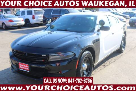 2015 Dodge Charger for sale at Your Choice Autos - Waukegan in Waukegan IL