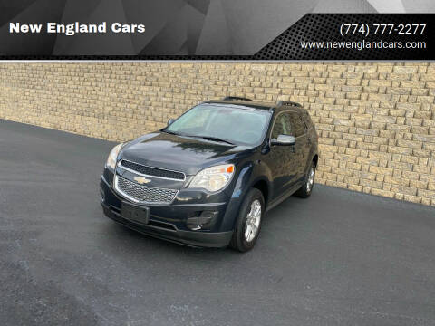 2014 Chevrolet Equinox for sale at New England Cars in Attleboro MA