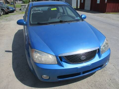 2006 Kia Spectra for sale at FERNWOOD AUTO SALES in Nicholson PA