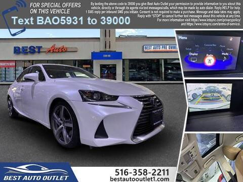 2017 Lexus IS 300 for sale at Best Auto Outlet in Floral Park NY