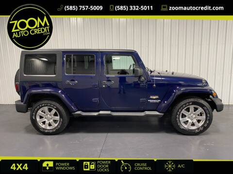 2013 Jeep Wrangler Unlimited for sale at ZoomAutoCredit.com in Elba NY