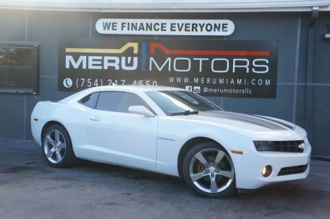2010 Chevrolet Camaro for sale at Meru Motors in Hollywood FL