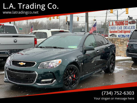 2017 Chevrolet SS for sale at L.A. Trading Co. in Woodhaven MI