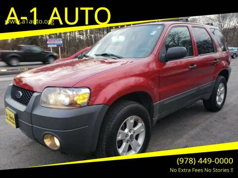 2006 Ford Escape for sale at A-1 Auto in Pepperell MA