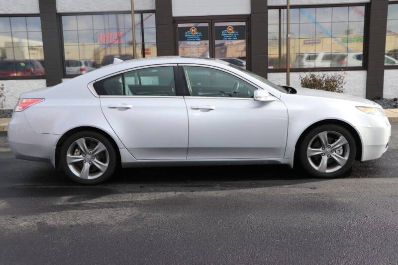 2012 Acura TL for sale at Ultimate Auto Deals DBA Hernandez Auto Connection in Fort Wayne IN