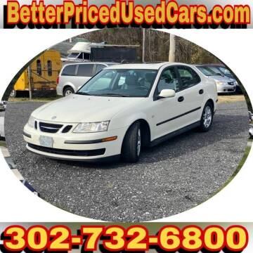2005 Saab 9-3 for sale at Better Priced Used Cars in Frankford DE