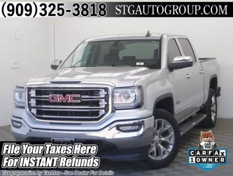 2018 GMC Sierra 1500 for sale at STG Auto Group in Montclair CA