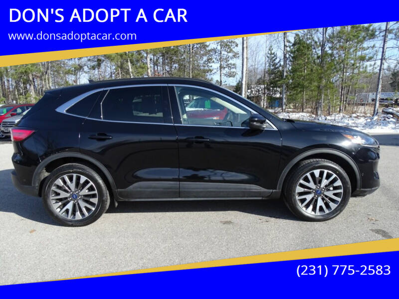 2020 Ford Escape for sale at DON'S ADOPT A CAR in Cadillac MI