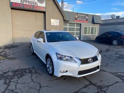 2013 Lexus GS 350 for sale at Utah Credit Approval Auto Sales in Murray UT