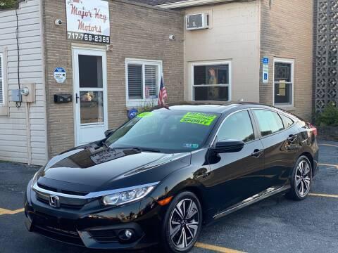 2016 Honda Civic for sale at Major Key Motors in Lebanon PA