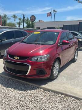 2017 Chevrolet Sonic for sale at A AND A AUTO SALES in Gadsden AZ