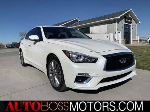 2019 Infiniti Q50 for sale at Auto Boss in Woodscross UT