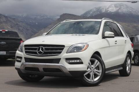 2013 Mercedes-Benz M-Class for sale at REVOLUTIONARY AUTO in Lindon UT