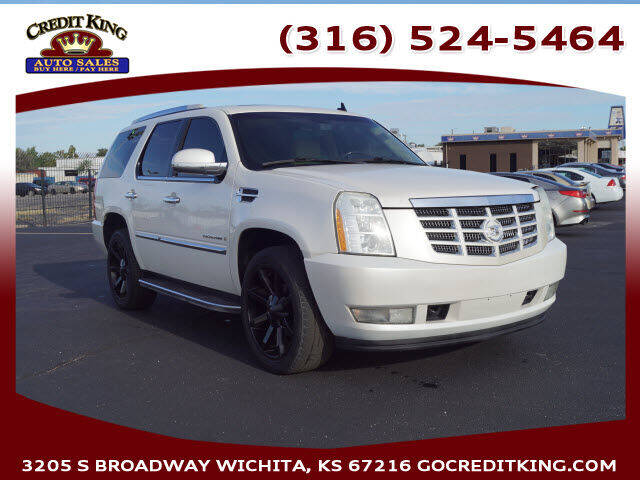2008 Cadillac Escalade for sale at Credit King Auto Sales in Wichita KS