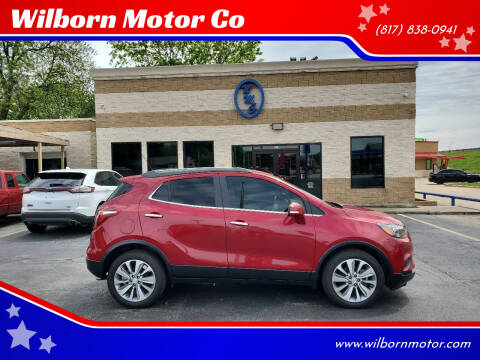 2018 Buick Encore for sale at Wilborn Motor Co in Fort Worth TX