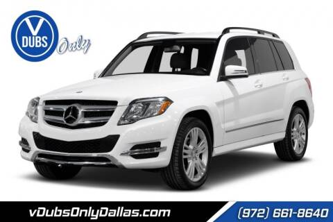2014 Mercedes-Benz GLK for sale at VDUBS ONLY in Dallas TX
