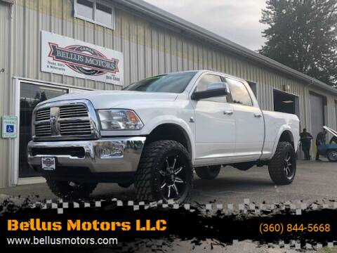 2012 RAM Ram Pickup 3500 for sale at Bellus Motors LLC in Camas WA