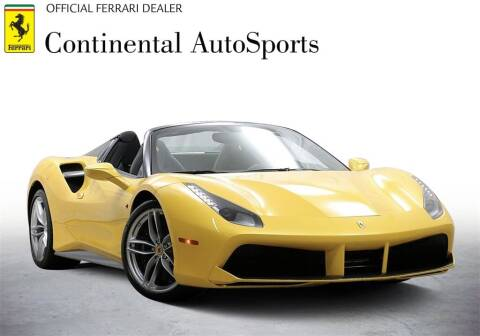 2018 Ferrari 488 Spider for sale at CONTINENTAL AUTO SPORTS in Hinsdale IL