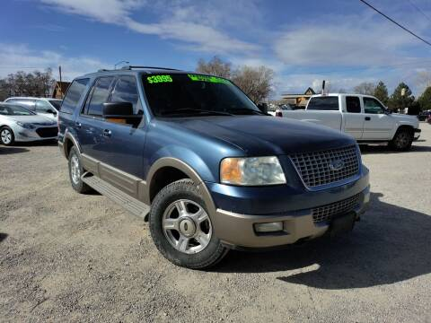 2003 Ford Expedition for sale at Canyon View Auto Sales in Cedar City UT